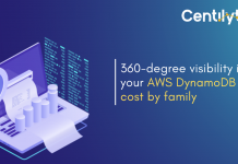AWS DynamoDB Cost By Family - Cloud Cost Monitoring