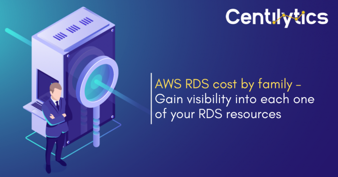 AWS RDS Cost By Family - Cloud Cost Monitoring