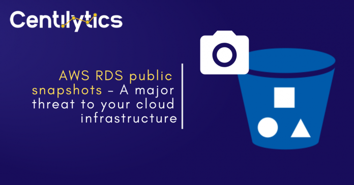 AWS RDS Public Snapshots - Cloud Security