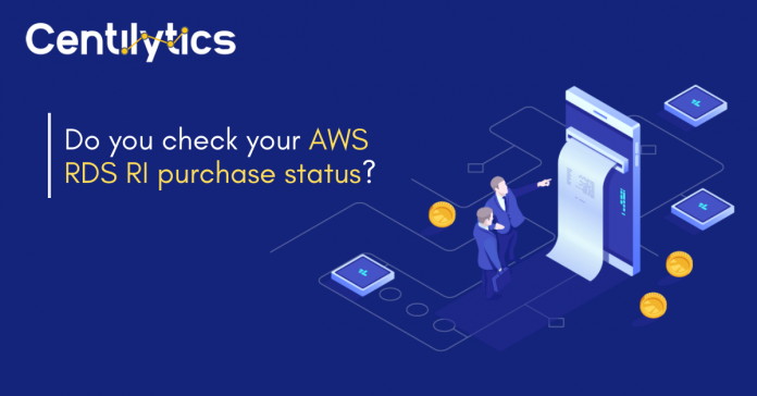 AWS RDS Reserved Instance (RI) Purchase Status - Cost Optimization