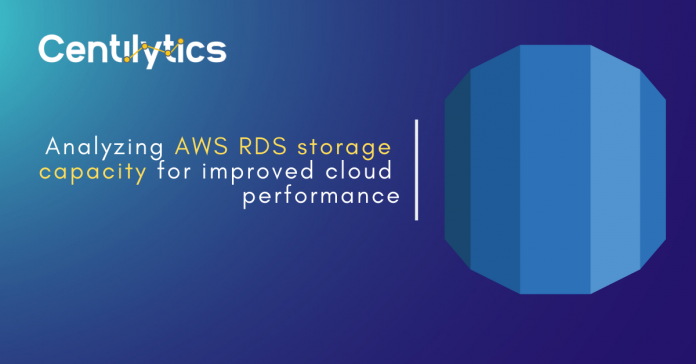AWS RDS Storage Capacity - Performance Optimization