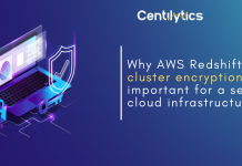 AWS Redshift cluster encryption