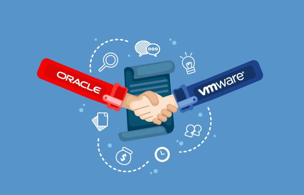 oracle partners with vmware