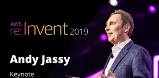 Andy Jassy Keynote Announcements at AWS reInvent 2019