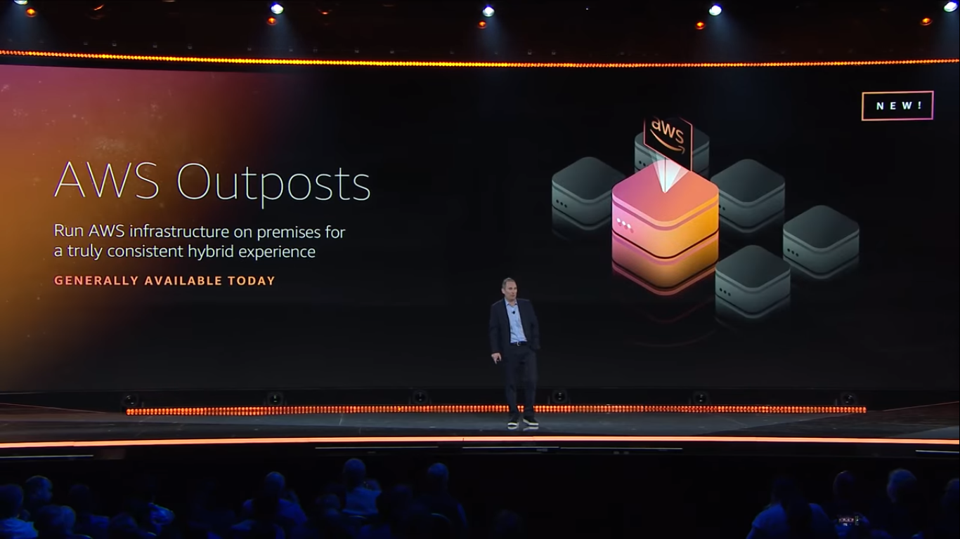 aws outposts general availability
