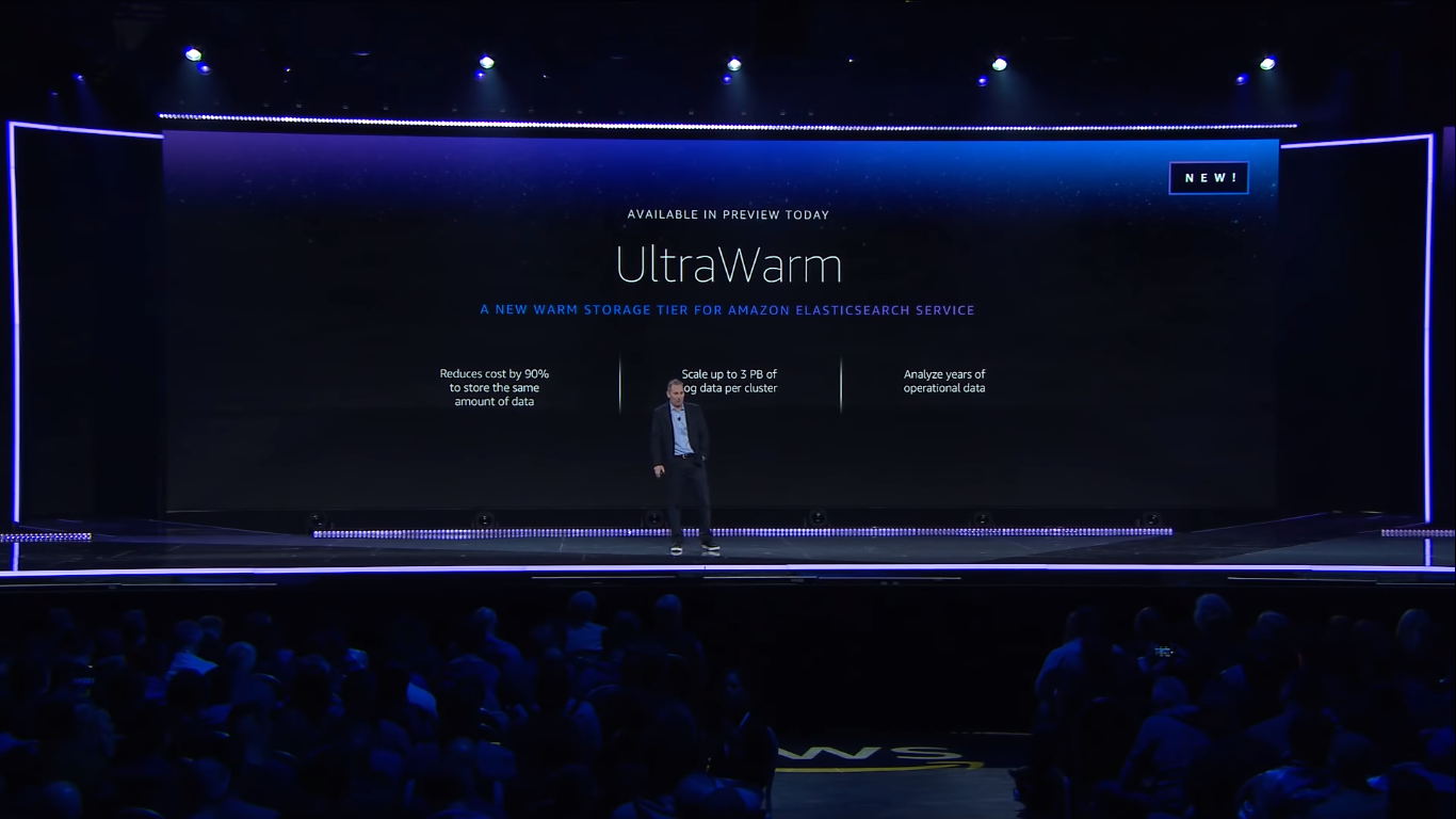 andy jassy announced amazon ultrawarm