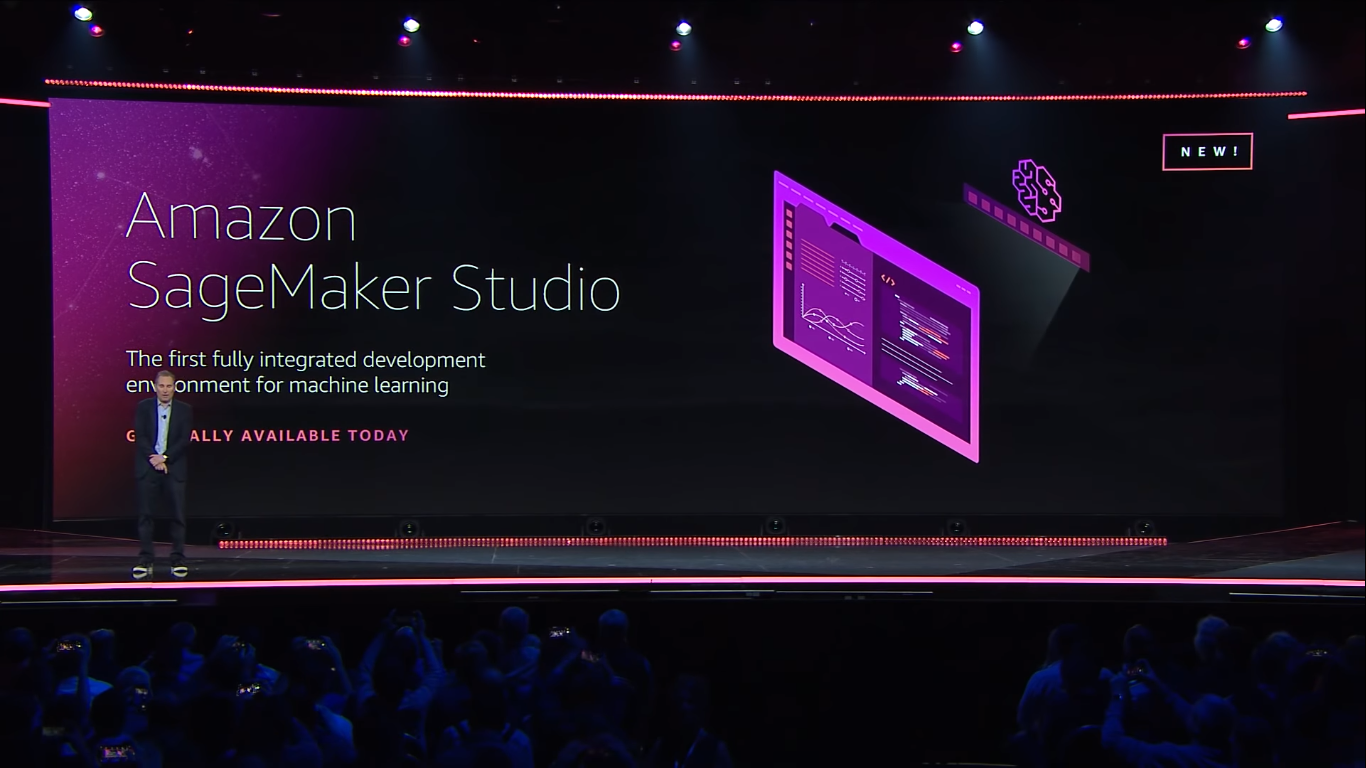 aws announced amazon sagemaker studio