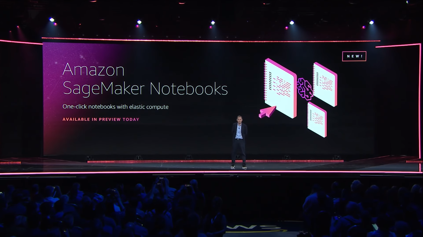 amazon announced amazon sagemaker notebooks
