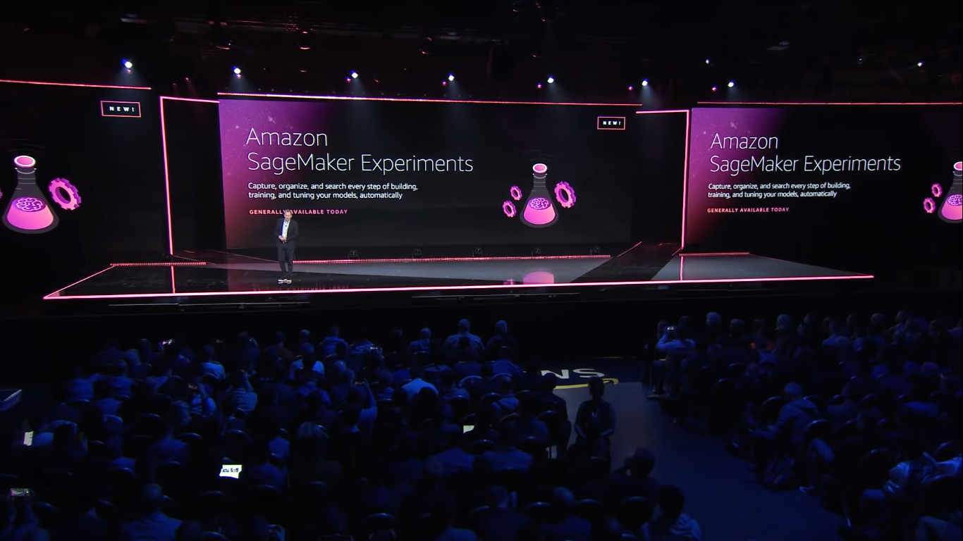 AWS announced Amazon SageMaker Experiments