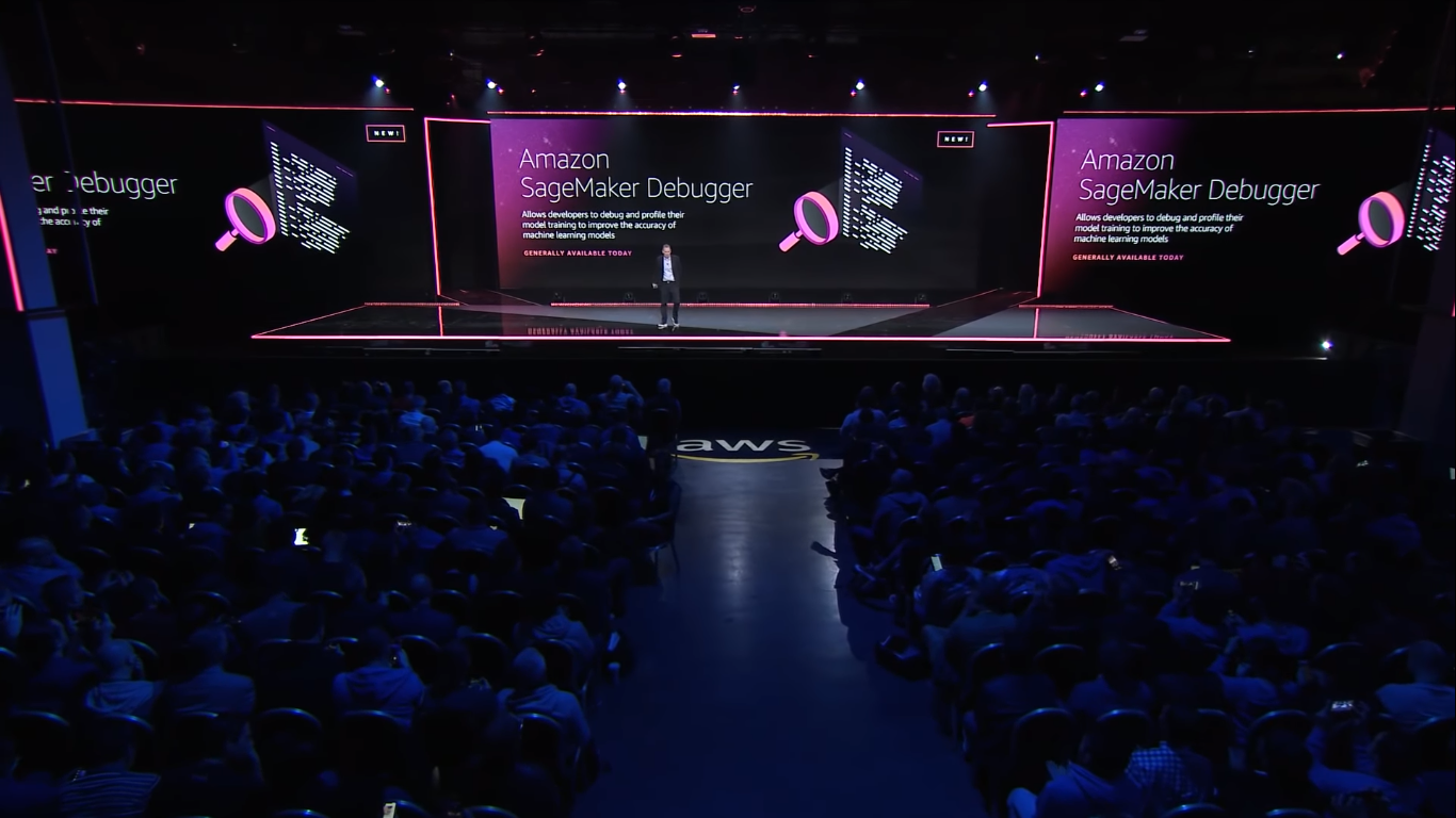 Andy Jassy announced Amazon SageMaker Debugger