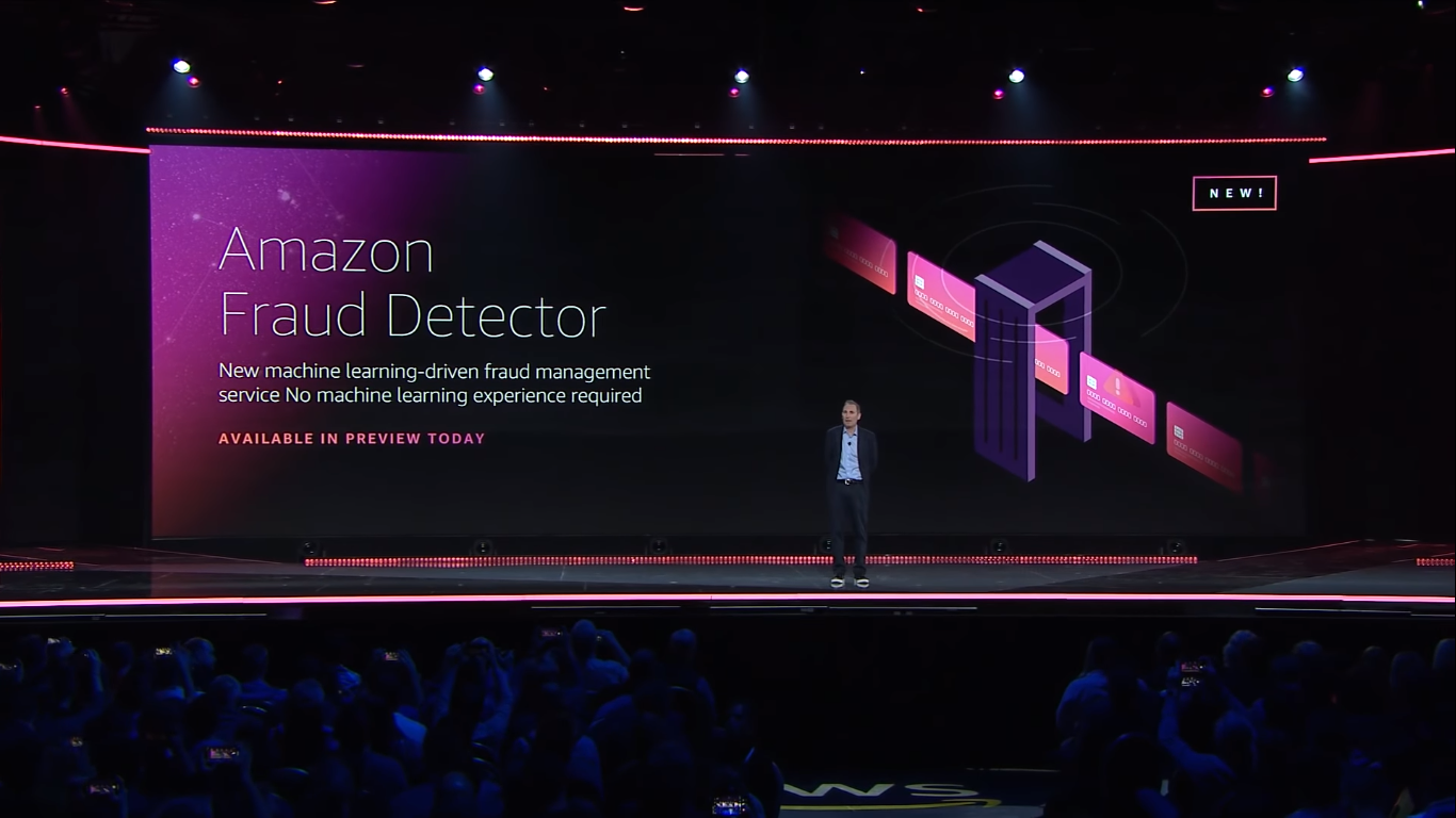 AWS announced Amazon Fraud Detector