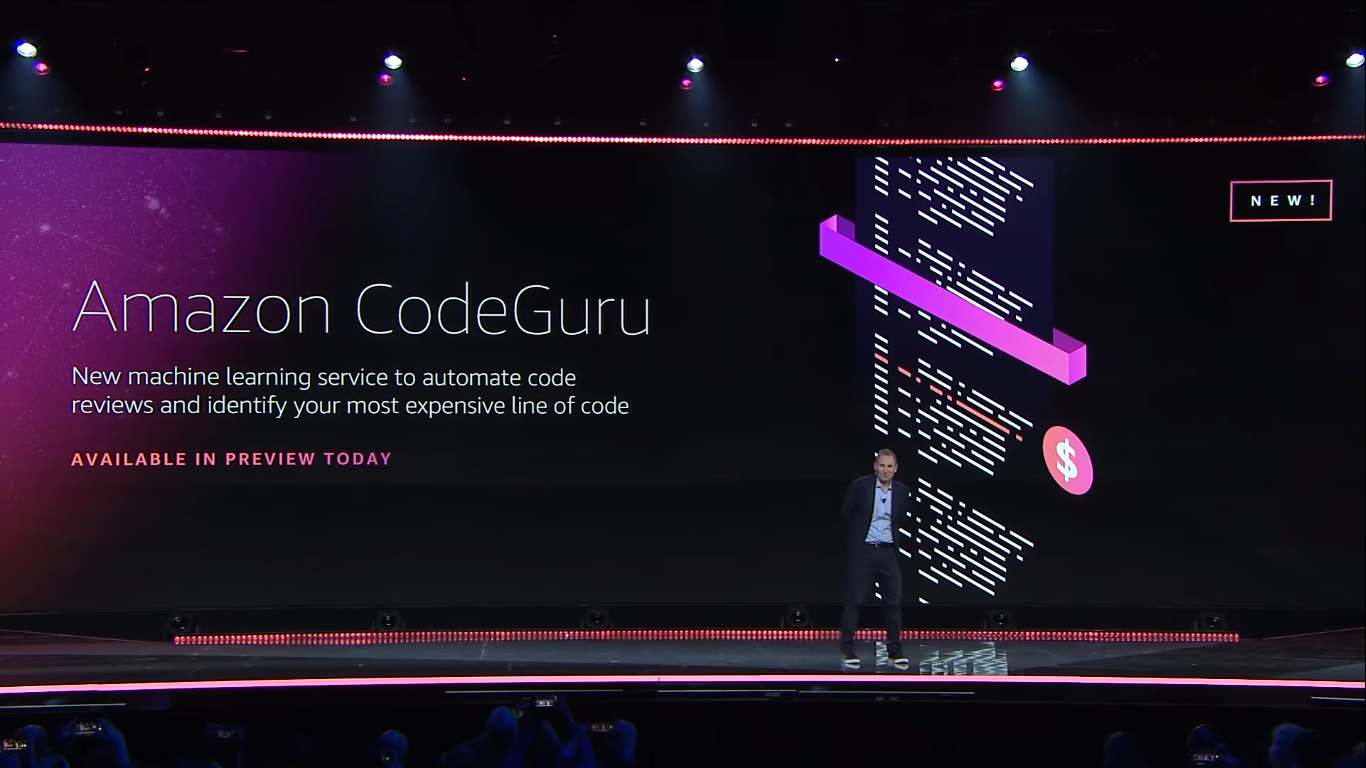 AWS announced Amazon CodeGuru