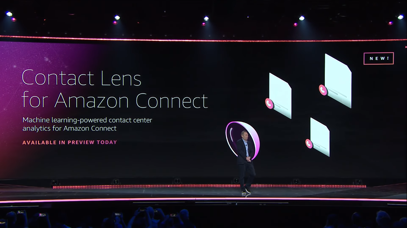 AWS announced Contact Lens for Amazon Connect