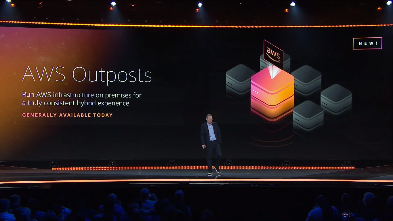 amazon announced general availability of aws outposts