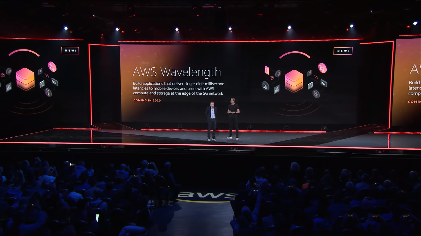 aws announced aws wavelength